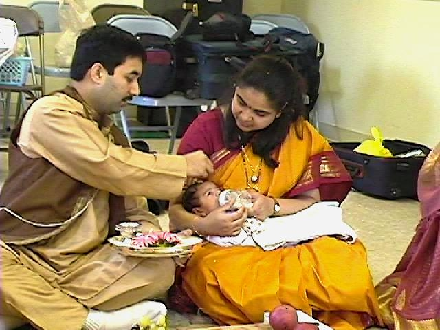 Ayush 39 es naamkaran vidhi barse for Baby namkaran decoration
